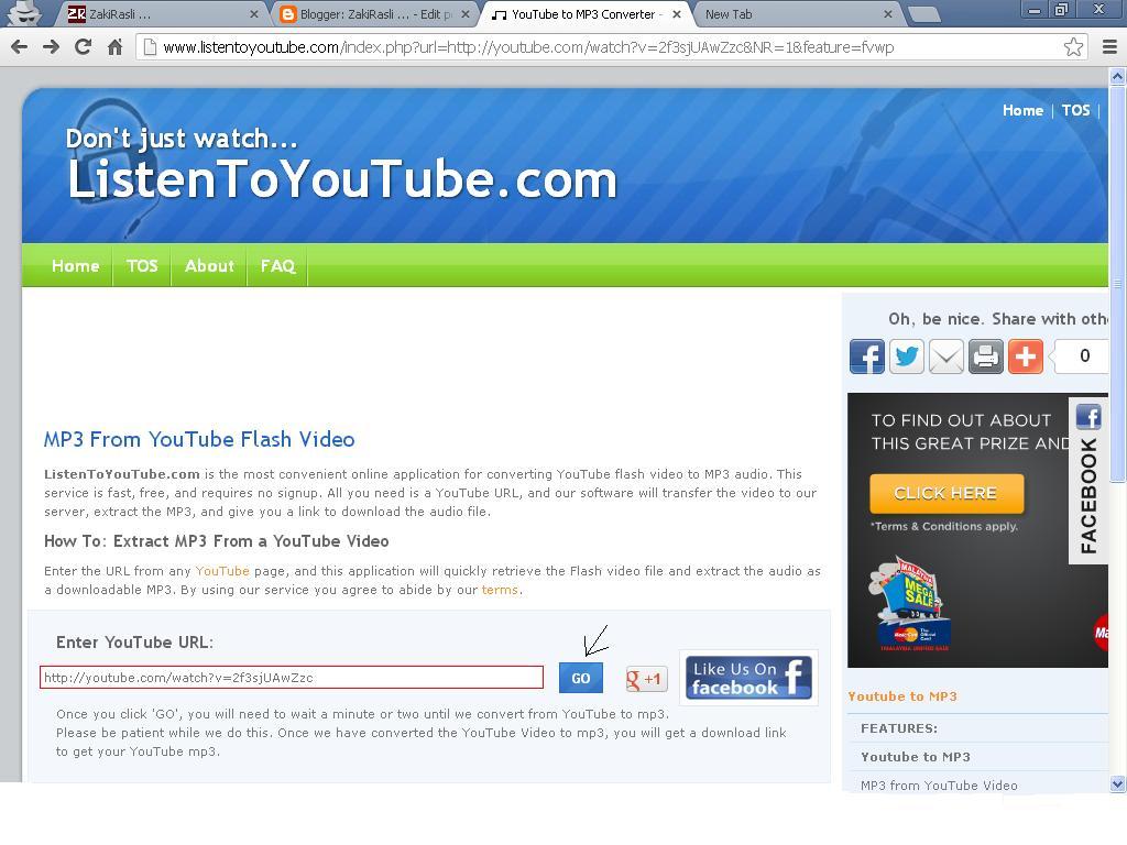 -blogzakirasli-: Tutorial download lagu di Youtube tanpa ... - photo#25