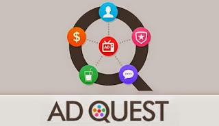 AdQuest adalah Aplikasi Android Penghasil Uang