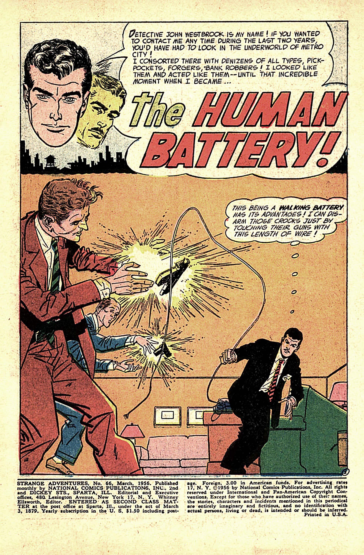Strange Adventures (1950) issue 66 - Page 3