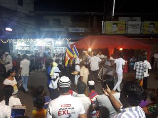இன்று வெலிகம பிரதேச  முஸ்லீம்களால் ஏற்பாடு செய்யட்ட ஜன்சல் விருந்து உபசாரம்