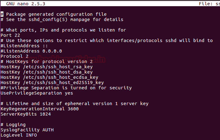 Multiple Ways to Secure SSH Port 5 – 3