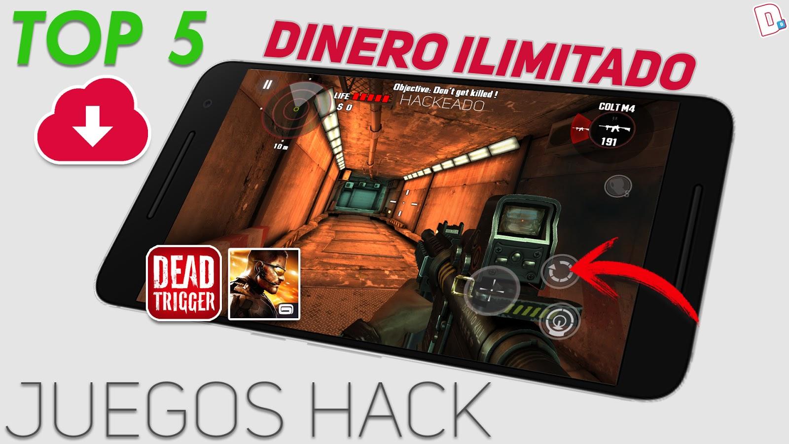 Top 5 Juegos Hackeados Para Android Monedas Infinitas Dinero
