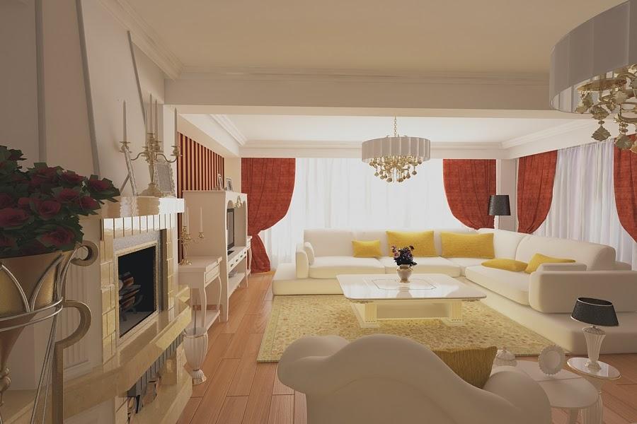 Design interior living casa clasica - Design Interior | Amenajari interioare