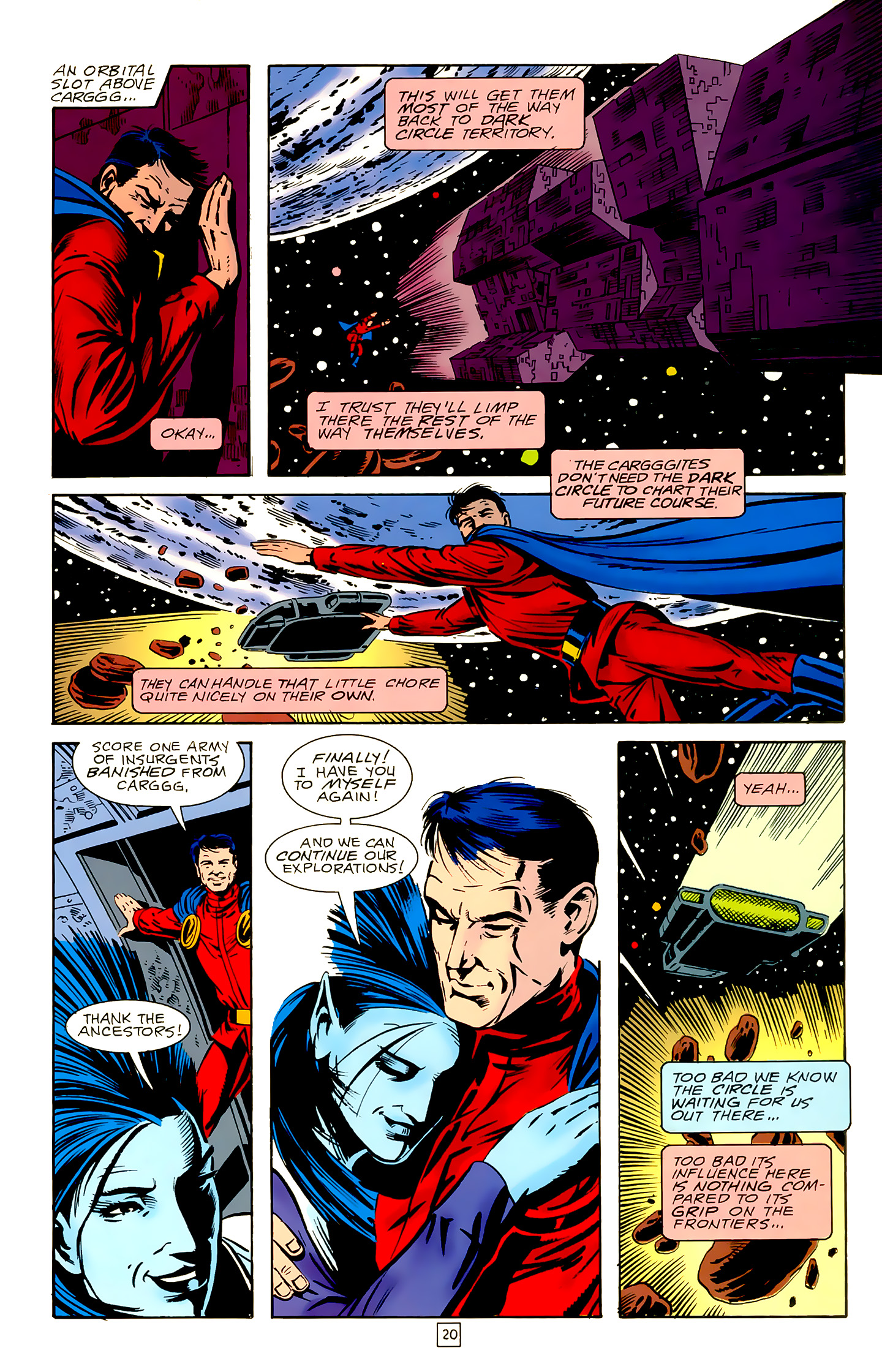 Legion of Super-Heroes (1989) 18 Page 20
