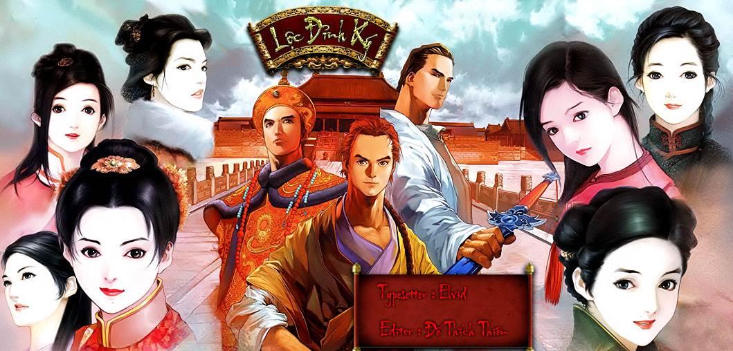 Ấn tượng nhất trong Lộc Đỉnh Ký đó chính là 7 cô vợ của Vi Tiểu Bảo, bảy  người họ đều có nét riêng nhưng đều khôn ngoan, học hành tử tế.