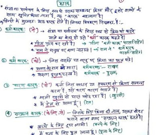 Hindi Grammar Notes