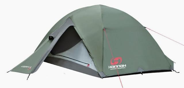Палатка Hannah Covert: мои впечатления