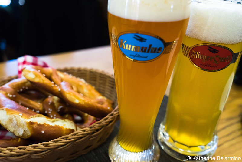 Airbrau Beer Munich Airport Long Layover Germany