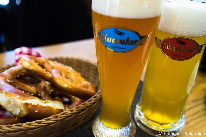 Airbrau Beer Munich Airport Long Layover Germany