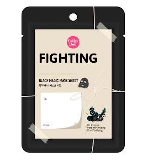 Cathydoll Fighting Mask Black Magic Sheet Feeling Mask