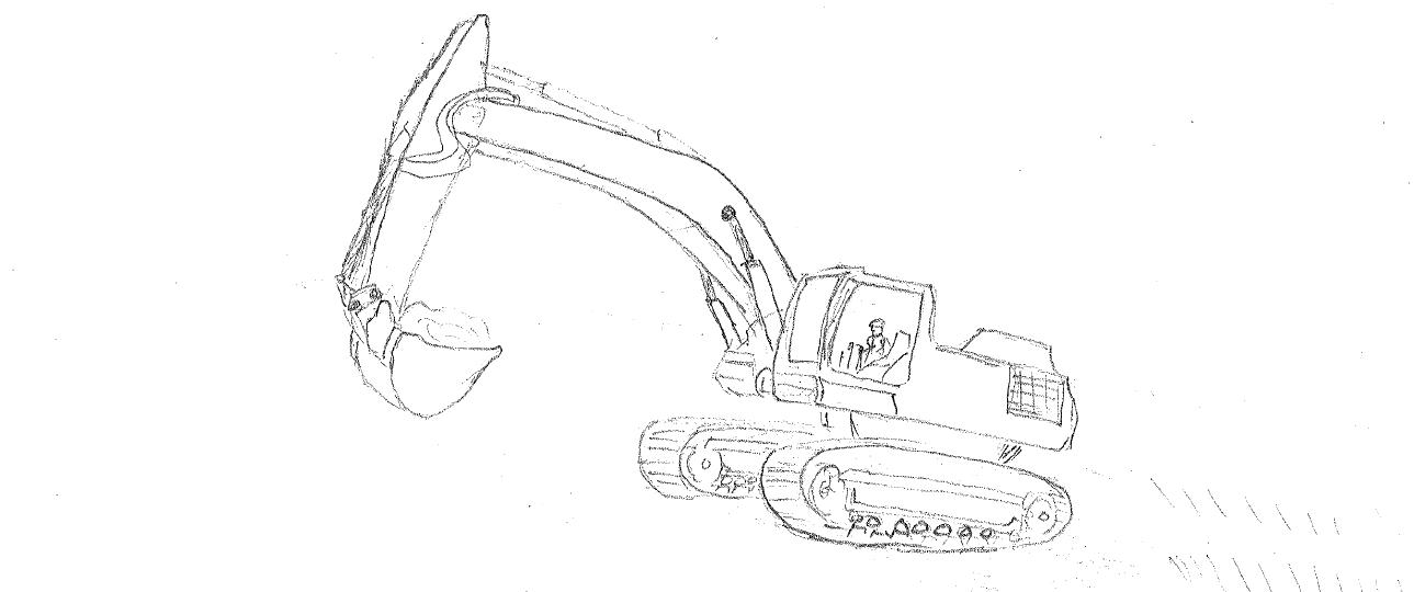PR 3 Alber: Hydraulic Excavator Maintenance ~ Sebuah Cerita