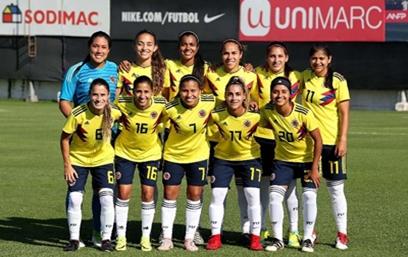 Selección Femenina de Mayores empató con Chile, en juego amistoso