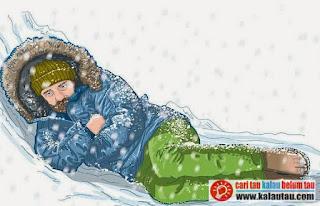 kalautau.com - Menunda kematian dengan hipotermia