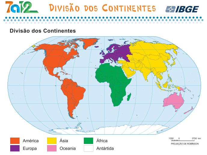mapa dos continentes MAPA DOS CONTINENTES | Suporte Geográfico mapa dos continentes