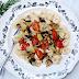 Parmezaanse Kaas Geroosterde Groenten en Tortellini