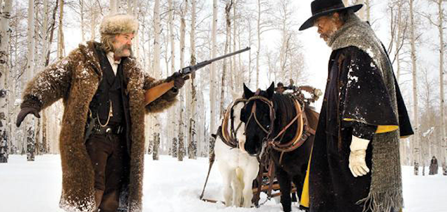 The Hateful Eight: Kurt Russell şi Samuel L. Jackson