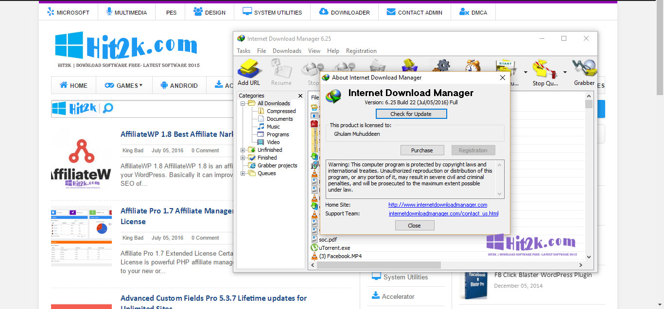idm free download with patch and crack full version 6.25