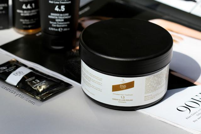 Лечебный пилинг для кожи головы DSD de Luxe 1.3 Peeling antiseborrheic treatment