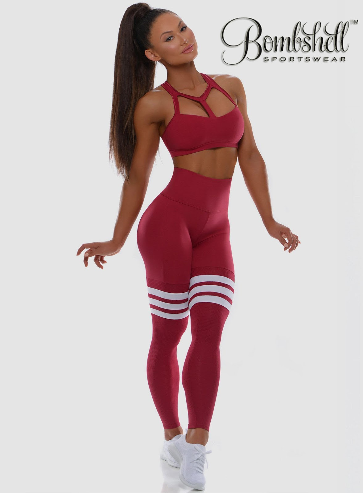 02888135c8 A woman can look cute with Bombshell's new Cute Leggings. Best quality  fabric used, women feel comfortable at the time of exercise.