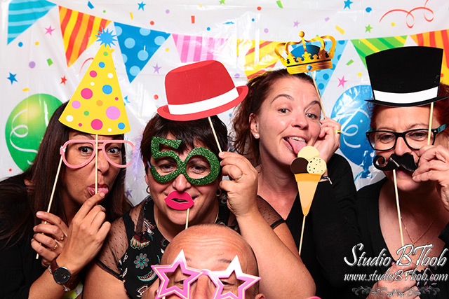 Animation pour anniversaire photobooth