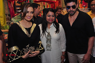 Bollywood Actress Sana Khan Launches Aakrithi Exibition  0315.JPG