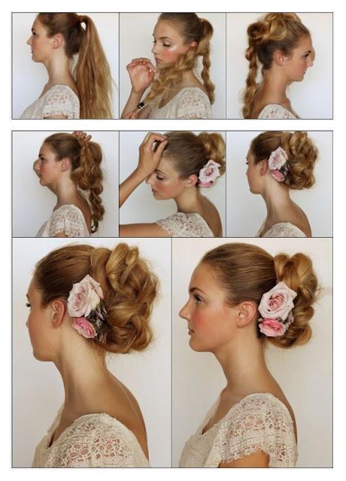 Pleasing Bun Hairstyles For Short Hair Step By Short Hair Fashions Short Hairstyles Gunalazisus