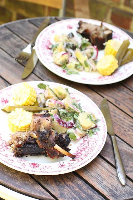 recette agneau cuisson lente barbecue