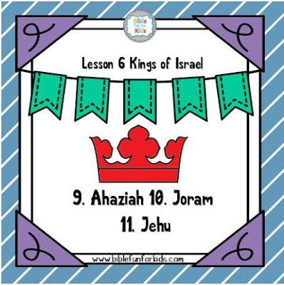 http://www.biblefunforkids.com/2019/10/6-kings-9-ahaziah-10-joram-11-jehu.html