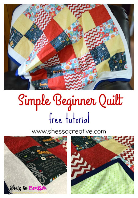 Beginner Level Quilt Instructions