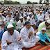 कासगंज - भरगैन में सुकून के साथ अता की गयी ईद उल फितर की नमाज