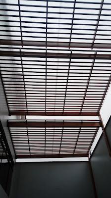 Techo Sol y sombra de madera para terrazas en San Borja