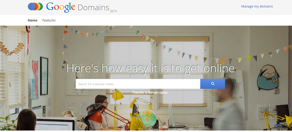 easy domain integration with google domains on blogger