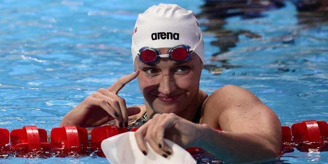 Katinka Hosszù - Record du monde du 200 m 4 nages en grand bassin