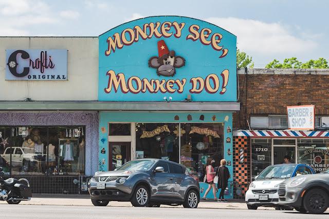 Monkey See, Monkey Do!. Austin, TX.