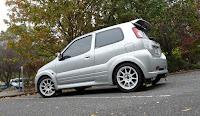 388. Suzuki Ignis FH/MH (2000-2007) / Subaru Justy G3X. staryjaponiec blog