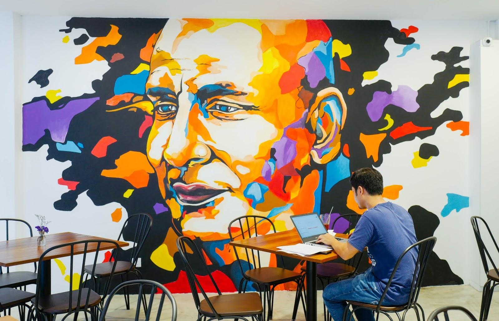 Damai Studio & Cafe, Damai Road