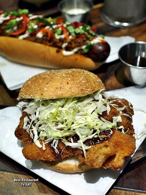 TOMMY THONGCHAI JAYA ONE  Menu - ThongChai's Tonkatsu Burger