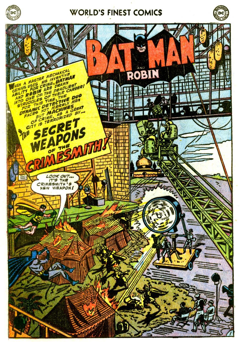 Read online World's Finest Comics comic -  Issue #68 - 54