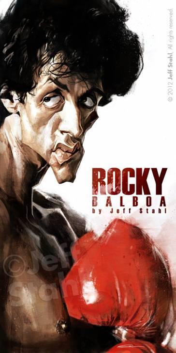 Rocky por Jeff Stahl