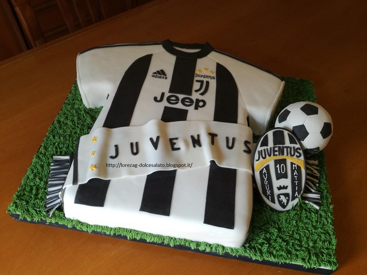 Connu LE TORTE DI LORENA .E NON SOLO!!!!!: Torta maglia Juventus HL36