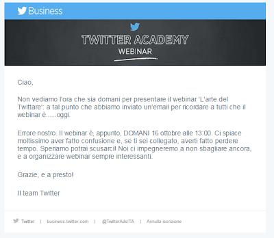 Twitter Ads Italia