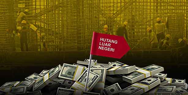 Utang Luar Negeri Indonesia Tumbuh Melambat