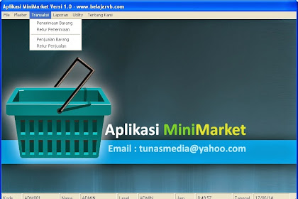 Download Program Aplikasi Mini Market Menggunakan VB 6.0