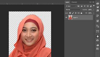 Cara Cepat Mengganti Background Belakang Di photoshop Dengan mudah