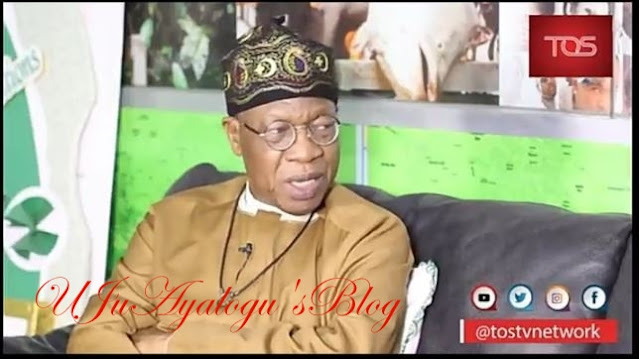 WATCH VIDEO..No One Can Point at a Single Lie From Me - Lai Mohammed