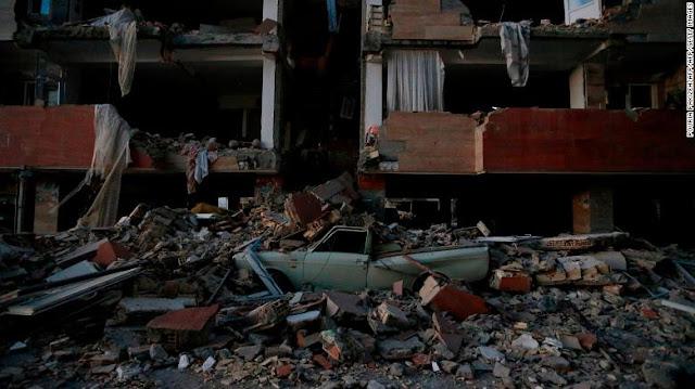 Earthquake Hits Iran-Iraq As Death Toll Rises Above 200