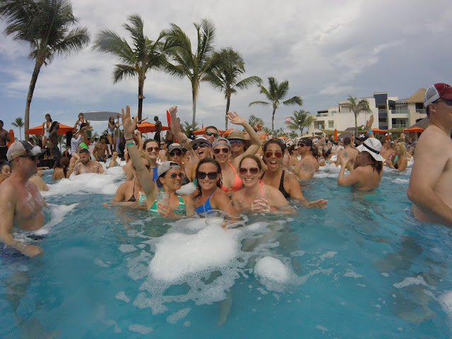 Punta Cana, Beachbody Success Club Trip, Jaime Messina, foam party, fireworks, BEachbody Coaching, lgbt, lesbian fitness, fit lesbian, lesbian beachbody coach, health coach, free trips,