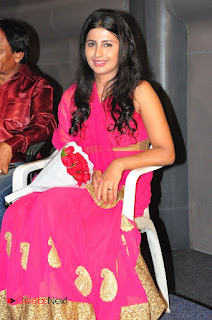 Actress Raj Shri Poonnappa Stills in Pink Dress at Mental Police Trailer Launch BollywoodGossip 0010.JPG