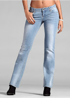 Jeanși Bootcut bonprix (bonprix)