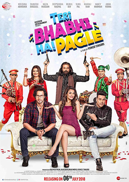 Poster Teri Bhabhi Hai Pagle 2018 Hindi HD 720p